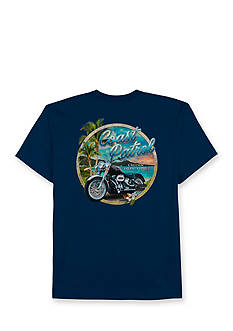 Saddlebred Big & Tall Coastal Patrol Short Sleeve Graphic Tee