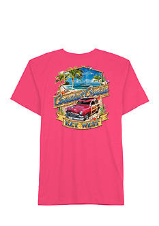 Saddlebred Coastal Cruise Beach Scene Short Sleeved Screen Tee