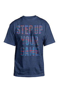 SB Tech® Big & Tall Step Up Your Game Short Sleeve Active Tee