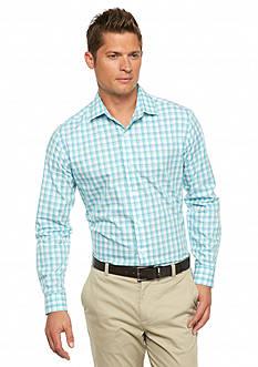 MADE Cam Newton Long Sleeve Non Iron Woven Shirt