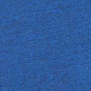 Mens T-shirts: Henley: China Blue Long Sleeve Mixed Media Henley Shirt