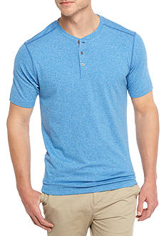 Ocean & Coast® Short Sleeve Performance Henley Shirt