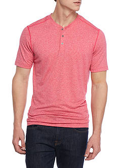 Ocean & Coast Short Sleeve Performance Henley Shirt
