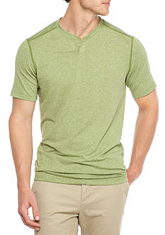 Ocean & Coast Short Sleeve Split Neck Shirt