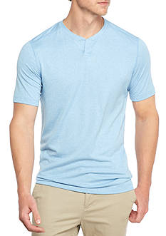 Ocean & Coast Short Sleeve Split Neck Shirt