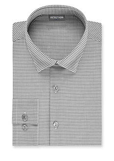 Kenneth Cole Reaction Slim Fit Technicole Flex Collar Dress Shirt