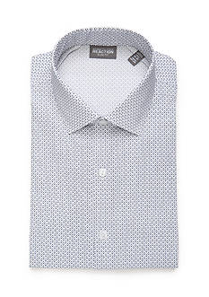 Kenneth Cole Reaction Slim Fit Technicole Dress Shirt