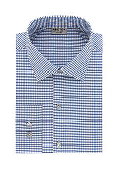Kenneth Cole Reaction Slim-Fit  Tek Fit Plaid Dress Shirt