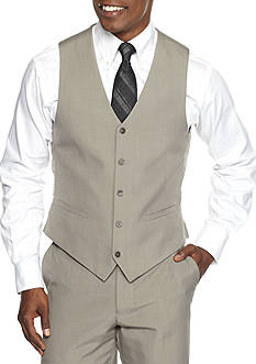 Saddlebred® Classic-Fit Look Suit Separate Vest