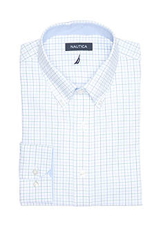 Nautica Classic Fit Eastport Button Down Dress Shirt