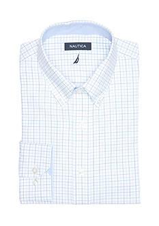 Nautica Classic Fit Eastport Button Down Dress Shirt