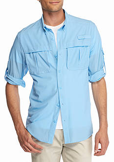 Ocean & Coast Long Sleeve Stretch Fishing Shirt