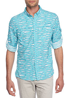 Ocean & Coast Long Sleeve Printed Fishing Shirt