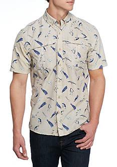 Ocean & Coast Short Sleeve Printed Fishing Shirt