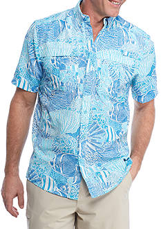 Ocean & Coast Short Sleeve Printed Fishing Shirt