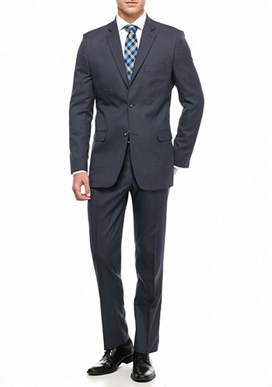 Greg Norman® Collection Classic Fit Poly-Stretch 2-Piece Suit