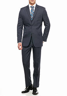Greg Norman Collection Modern-Fit Stretch 2-Piece Suit