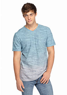 Chip & Pepper® CALIFORNIA Short Sleeve Ombre Pocket V-Neck Shirt