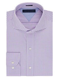 Tommy Hilfiger Slim Fit Easy Care Gingham Dress Shirt