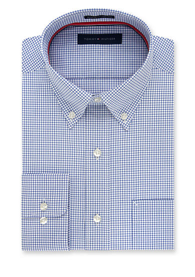 Tommy Hilfiger Non Iron Soft Touch Regular Fit Dress Shirt
