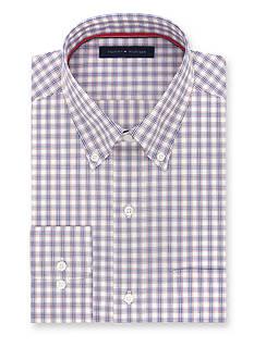 Tommy Hilfiger Non Iron Soft Touch Regular-Fit Dress Shirt