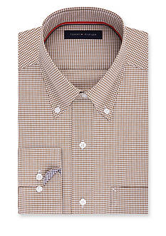 Tommy Hilfiger® Non-Iron Soft Touch Regular Fit Dress Shirt