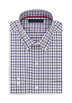 Tommy Hilfiger Big & Tall Check Dress Shirt