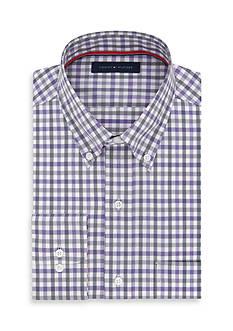 Tommy Hilfiger Big & Tall Check Dress Shirt
