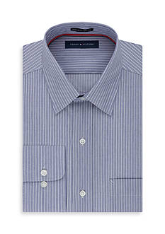 Tommy Hilfiger Big & Tall Non Iron Long Sleeve Dress Shirt