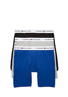 Tommy Hilfiger Solid Boxer Briefs - 3 Pack