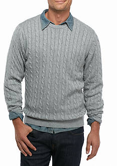 Saddlebred® Cable Knit Sweater