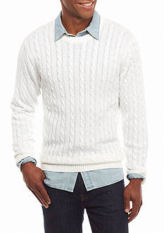 Saddlebred Cable Knit Sweater
