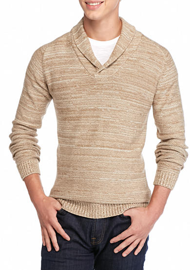 Saddlebred® 1888 Tailored Shawl Collar Pullover
