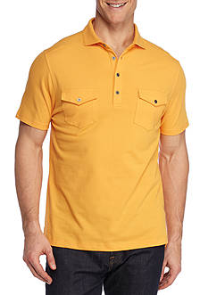 Ocean & Coast Short Sleeve Two Pocket Polo Shirt