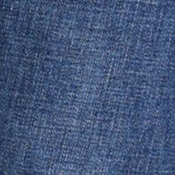 Mens Straight Leg Jeans: Dark Vintage IZOD Regular Fit Jeans