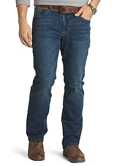 IZOD Comfort Stretch Relaxed-Fit Five-Pocket Jeans