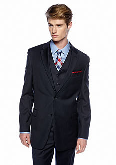 Tommy Hilfiger Classic Fit Stripe Suit Separate Coat