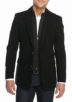 Tommy Hilfiger Classic Fit Moleskin With Bib Sport Coat