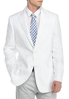 Tommy Hilfiger Classic-Fit White Linen Sport Coat