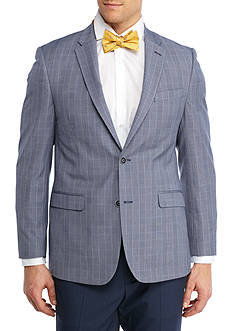 Tommy Hilfiger Slim-Fit Plaid Stretch Sport Coat