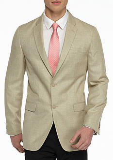 Tommy Hilfiger Classic-Fit Tan Twist Bray Soft Sport Coat