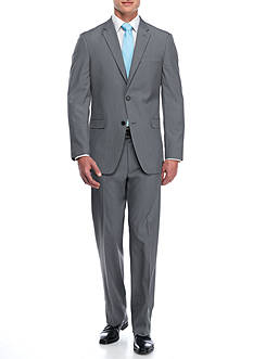 Tommy Hilfiger Classic-Fit Houndstooth Stretch Performance Suit
