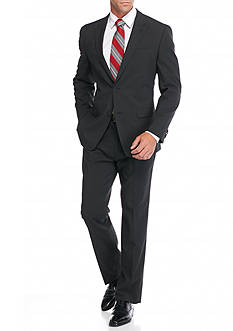 Tommy Hilfiger Classic-Fit Mini Check Suit
