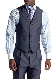 Steve Harvey® Blue Suit Separate Vest