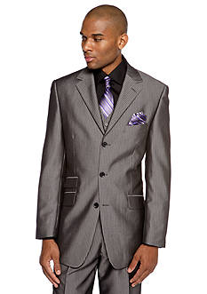 Steve Harvey Classic Fit Pinstripe Suit Separate Coat