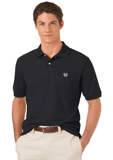 Chaps solid pique polo belk for Cheap coaches polo shirts
