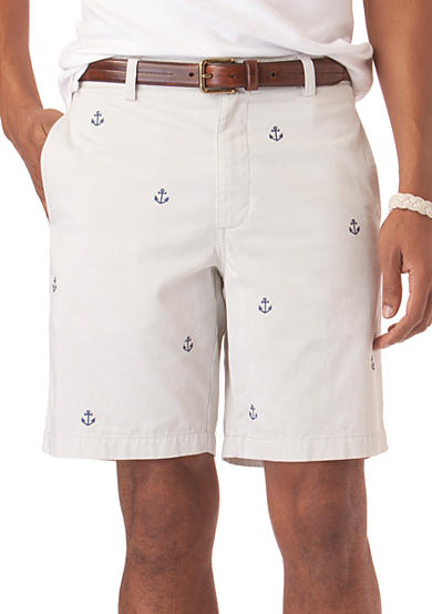 Chaps Embroidered Anchor Short