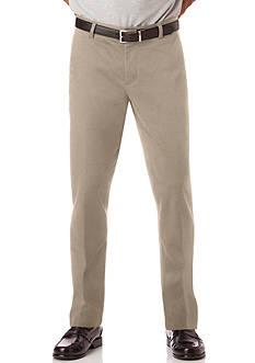 Chaps Custom Fit Flat Front Pant