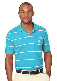 Chaps Rockhill Striped Pique Polo Shirt