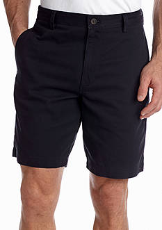 Chaps Flat Front Twill Short